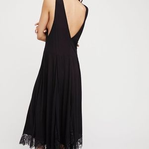 6d951f124e40 Free People Dresses - free people girl like you plunging lace dress
